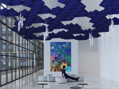 acoustical ceiling treatment
