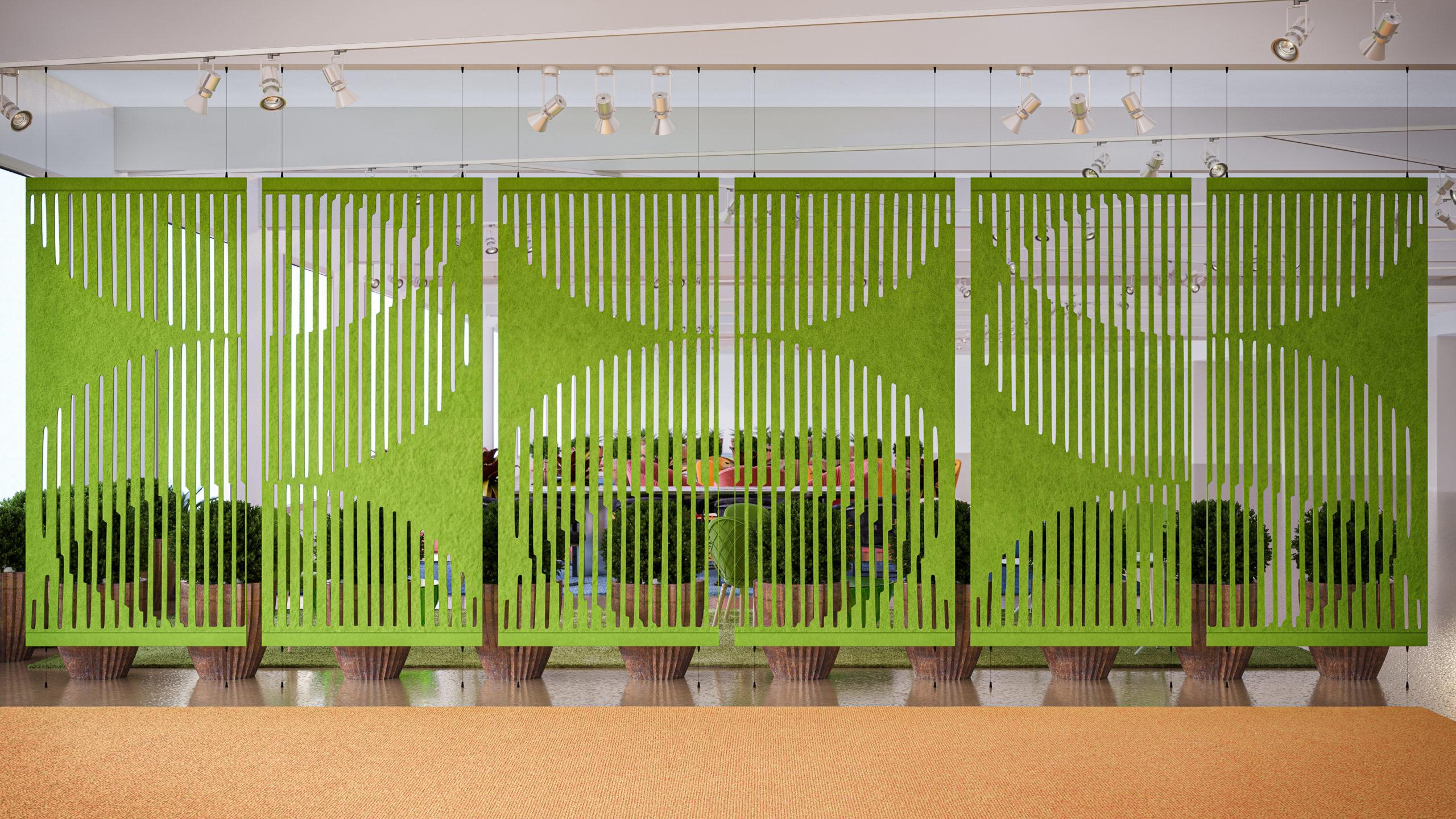 acoustic wall divider